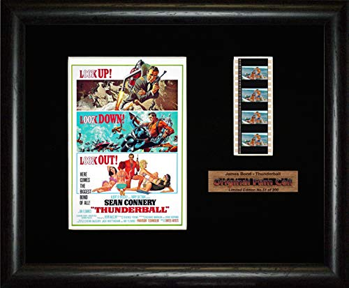 James Bond - Thunderball - Framed Film Cell Picture