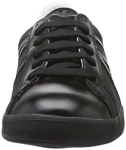 Armani 935565cc503, Sneaker Basse Uomo Schwarz (Nero 00020)