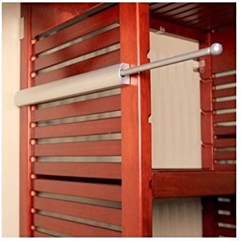 Amazon Com Telescopic Closet Valet Rod 14 Quot By Cabinet