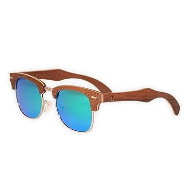 Amazon.com: Amelia manglar de madera anteojos de sol ...