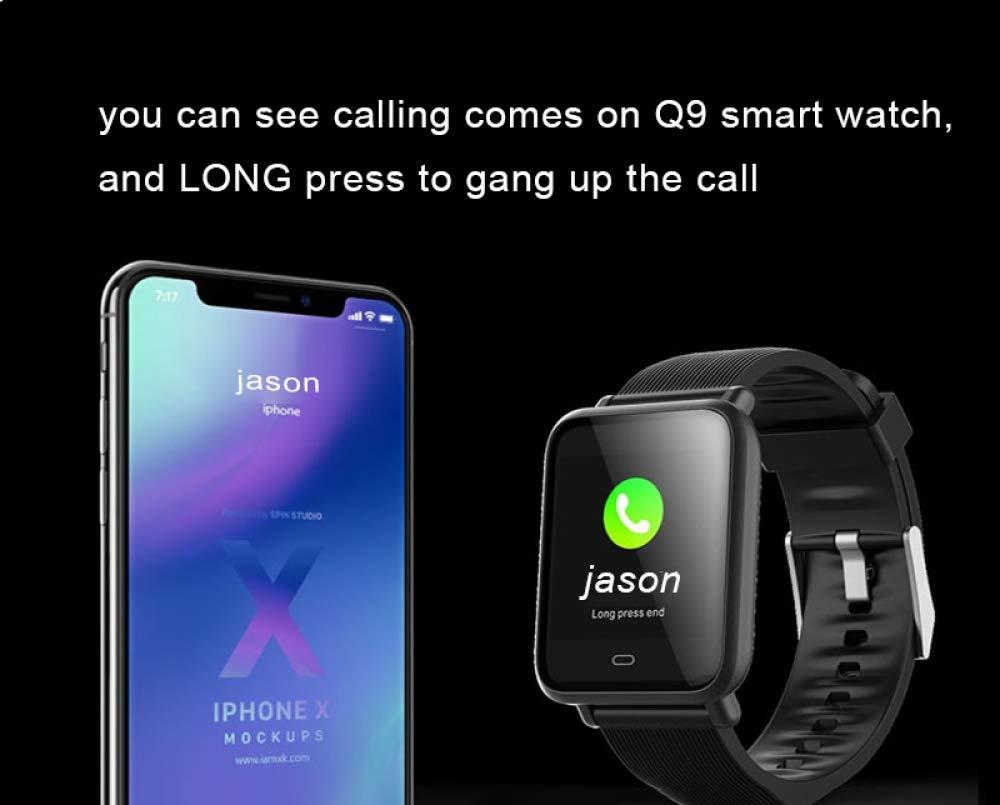 YF&FS Multi-Dial Q9 Smartwatch IPX67 Deportes a Prueba de ...