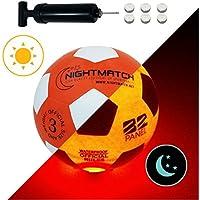 NightMatch Light Up Soccer Ball Kids Edition INCL BALL...