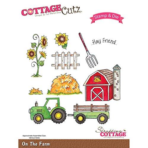 Cottagecutz Dies (Cottagecutz Stamp & Die Set-On The Farm)