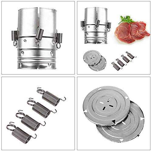 Daxerg 3 Layer Stainless Steel Ham Press Maker Machine Round Shape Container For Seafood Meat Poultry