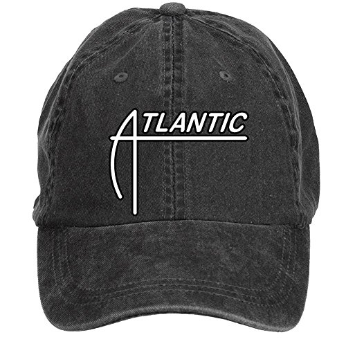 Kettyny Unisex Atlantic Records Logo Design Baseball Cap Hats