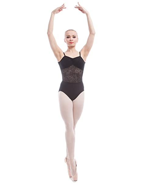 Dance Favourite Leotards for Womens and Girls Gymnastics Black 01D0048