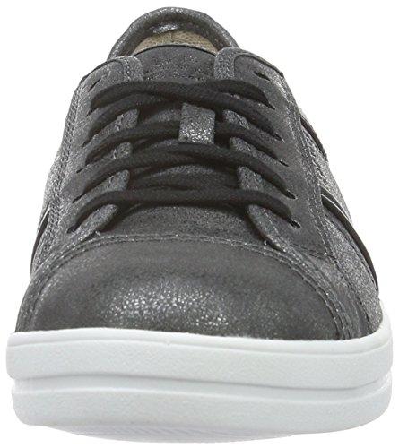 Esprit Mega Lace Up - Zapatillas Mujer Negro (001 black)