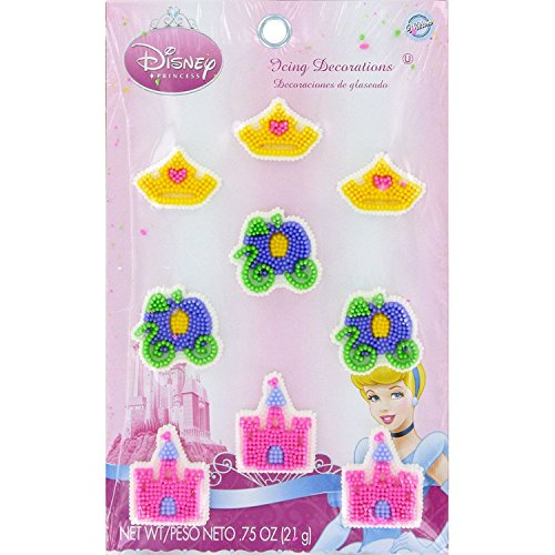 Wilton BB7107475 Disney Princess Edible Icing (Disney Princess Icing)