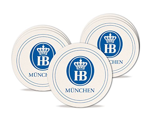 Beer Munich Germany (Hofbrauhaus Munich Brewery Beer Coasters 100pk)