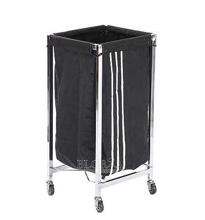 Amazon.com: Toalla carrito carro de ropa plegable bolsa de ...