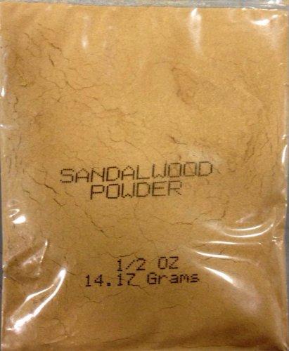 Pure Sandalwood Powder - 1/2 Ounce