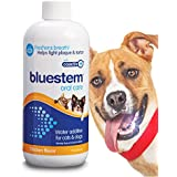 Pet Water Additive Oral Care: For Dogs & Cats Bad Breath, Dental Rinse Freshener Treats Plaque & Teeth Tartar Remover. Dog & Cat Mouth Hygiene Clean Health Treatment for Pets Drinking Bowl