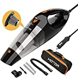 Car Vacuum, HOTOR Corded Car Vacuum Cleaner High Power for Quick Car...