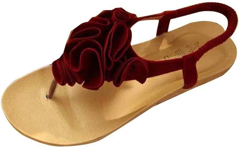 Sandalen__Elecenty Elecenty Sandalen Damen,Schuhe Flip Flops