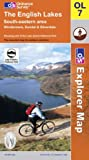 The English Lakes: South Eastern Area (Explorer Maps)