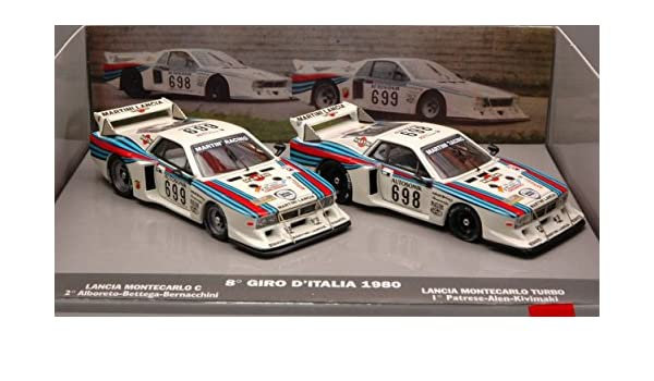 Amazon.com: LORENZI LO0225 LANCIA BETA MARTINI N.698/699 Pz.2 1:43 MODELLINO DIE CAST MODEL: Toys & Games