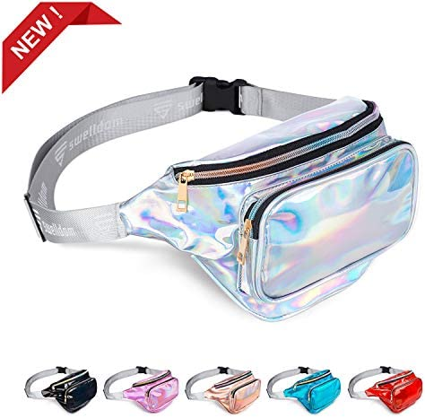 swelldom Holographic Waterproof Adjustable Festival product image