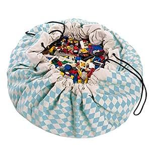 Play&Go Toy Storage Bag, Diamond Blue