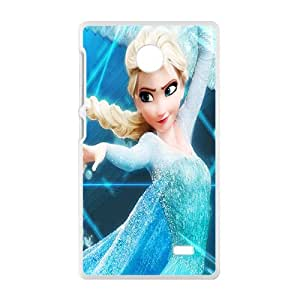 Malcolm Frozen lovely girl Cell Phone Case for Nokia Lumia X