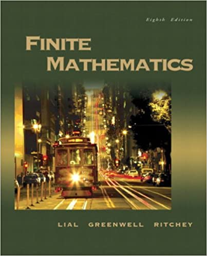 Finite mathematics 8th edition margaret l lial raymond n finite mathematics 8th edition 8th edition fandeluxe Images