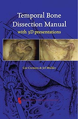 temporal bone dissection manual 3d presentations 9789062992256 rh amazon com temporal bone surgical dissection manual temporal bone dissection manual pdf