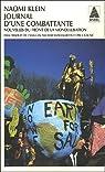 Journal d'une combattante : Nouvelles du front de la mondialisation par Klein