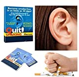 ShungHO Magnetic Therapy Quit Smoking Stop Quit Smoking Ear Auricular Therapy Magnets