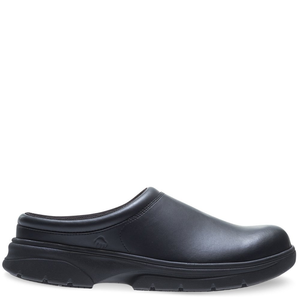 Wolverine Men's Serve SR LX Clog Slip-on Food Service Shoe, Black, 13 M US