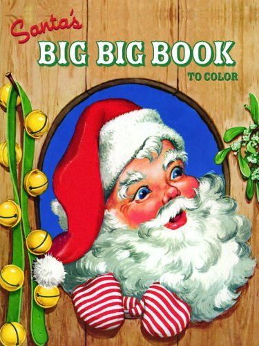 SANTAS BIG BOOK Golden Books product image