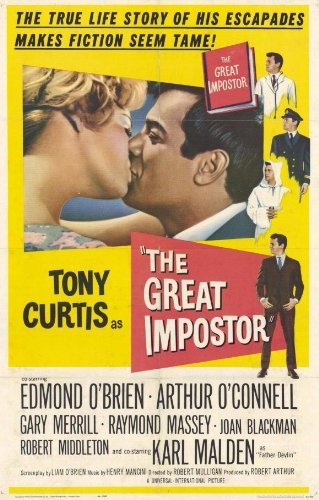 Amazon.com: The Great Imposter 11 x 17 Movie Poster - Style ...