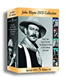 John Wayne DVD Collection (Flying Tigers/Sands of Iwo Jima/The Fighting Kentuckian/In Old California/Rio Grande)