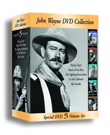 John Wayne DVD Collection (Flying Tigers/Sands of Iwo Jima/The Fighting Kentuckian/In Old California/Rio Grande) by Republic Pictures