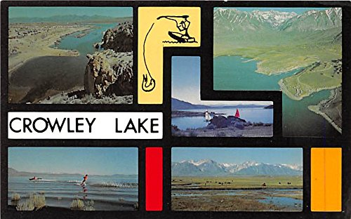- Crowley Lake California, CA, USA Large Letter Postcard