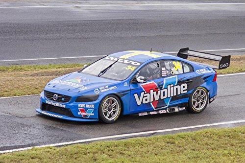 (Gifts Delight Laminated 27x18 Poster: Robert Dahlgren in Volvo Polestar Racing Australia car 34, Departing pitlane During The V8 Supercars Test Day)