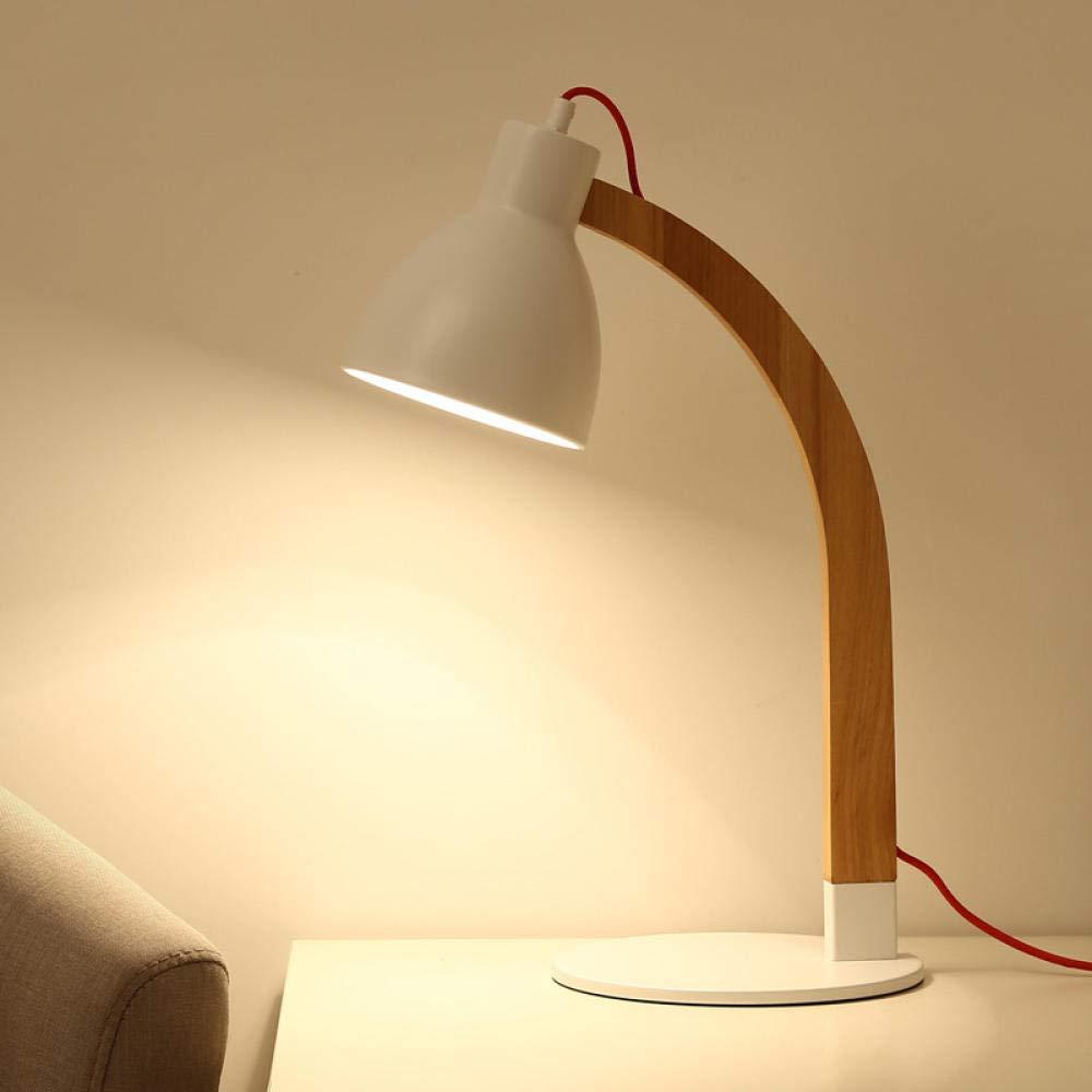 Leselampe Nachttischlampe Tischlampe Schreibtischlampe Tischleuchte Schlafzimmer Nacht Nordic Original Wohnzimmer Studie Japanischen Massivholz-Led-Lampen