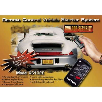 Bulldog Security RS102E Remote Vehicle Starter System