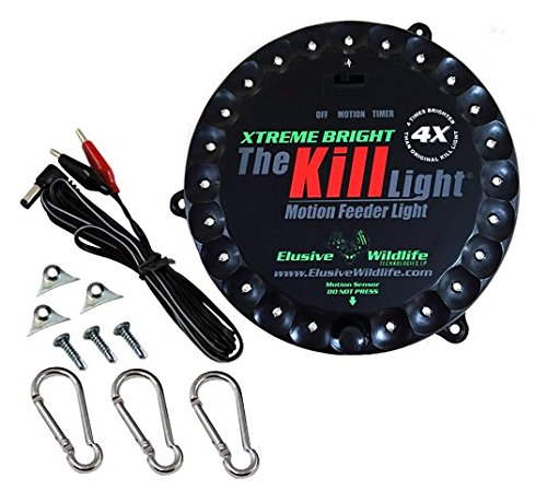 Kill Light XTREME Bright Motion Activated Feeder Light - GREEN by Elusive Wildlife
