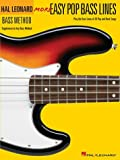 More Easy Pop Bass Lines, Hal Leonard Corp., 0634073532
