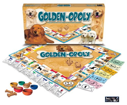 (Late for the Sky Golden Retriever-opoly)