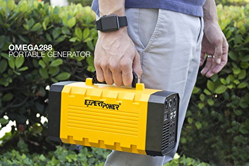 expertpower-omega-288-portable-generator-lithium-ion-12v-26ah-288wh-uninterruptible-power-supply-with-500w-pure-sine-wave-inverter-charged-by-ac-input12v-carsolar-power-for-outdoor-and-indoor-use