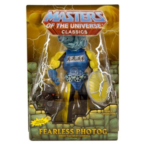 HeMan Masters of the Universe Classics 30th Anniversary Exclusive Action Figure Fearless Photog Mattel Toys 746775086251
