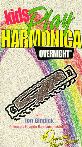 Kids Play Harmonica Overnight (Harmonica included) [VHS]