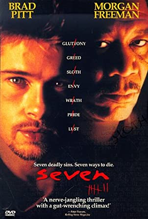 what are the seven sins in the movie seven