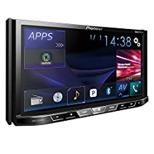 "Pioneer AVH-X4800BS DVD receiver with 7"" Motorized Display, Bluetooth, and AppRadio One"