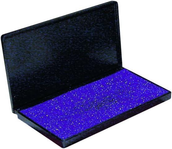 92615 3.25 x 6.25 Inches Charles Leonard Foam Stamp Pad Large Blue