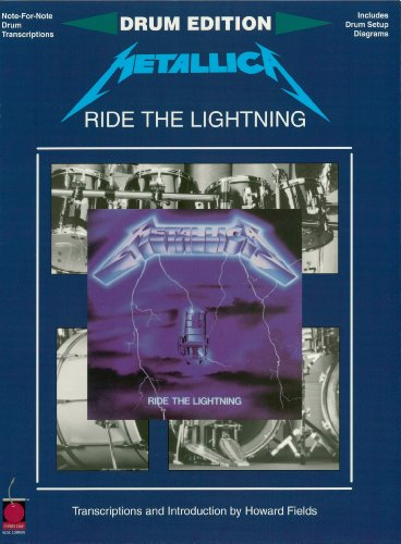 Amazon metallica ride the lightning songbook for drums metallica ride the lightning songbook for drums percussion by metallica fandeluxe Images