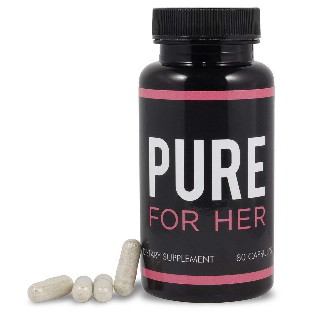 Pure for Her - Suplemento de fibra y control de peso (80 cápsulas ...