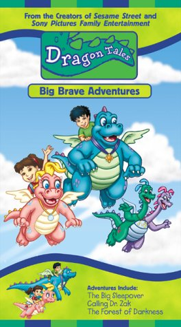 Dragon Tales - Big Brave Adventures [VHS]