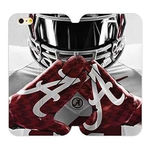 """Generic Custom Best Design NCAA University of Alabama Crimson Tide Symbol Case Cover iPhone6 Plus 5.5"""""""