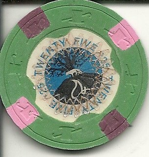 $25 foxwoods resost casino chip mgm grand (Cancelled Casino)